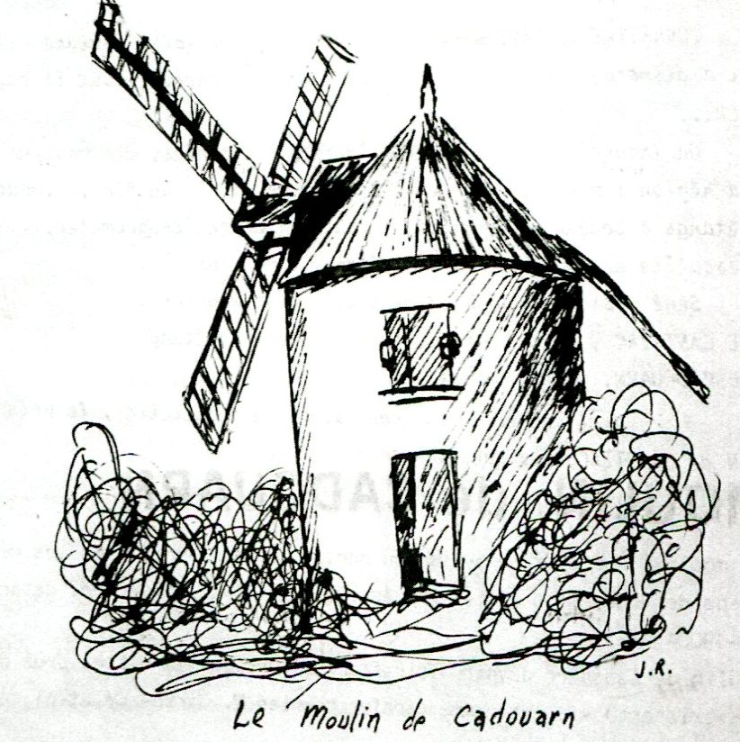 Croquis Cadouarn moulin