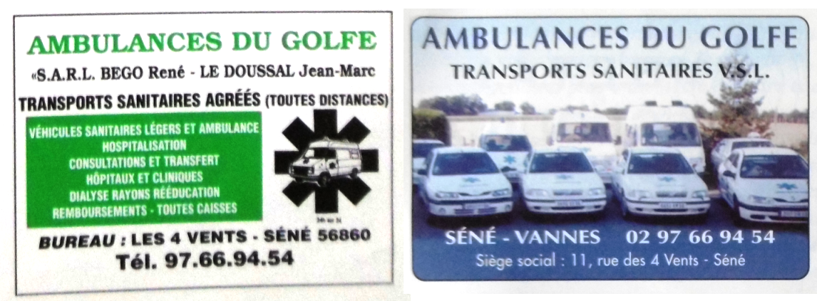 1989 Ambulances Golfe