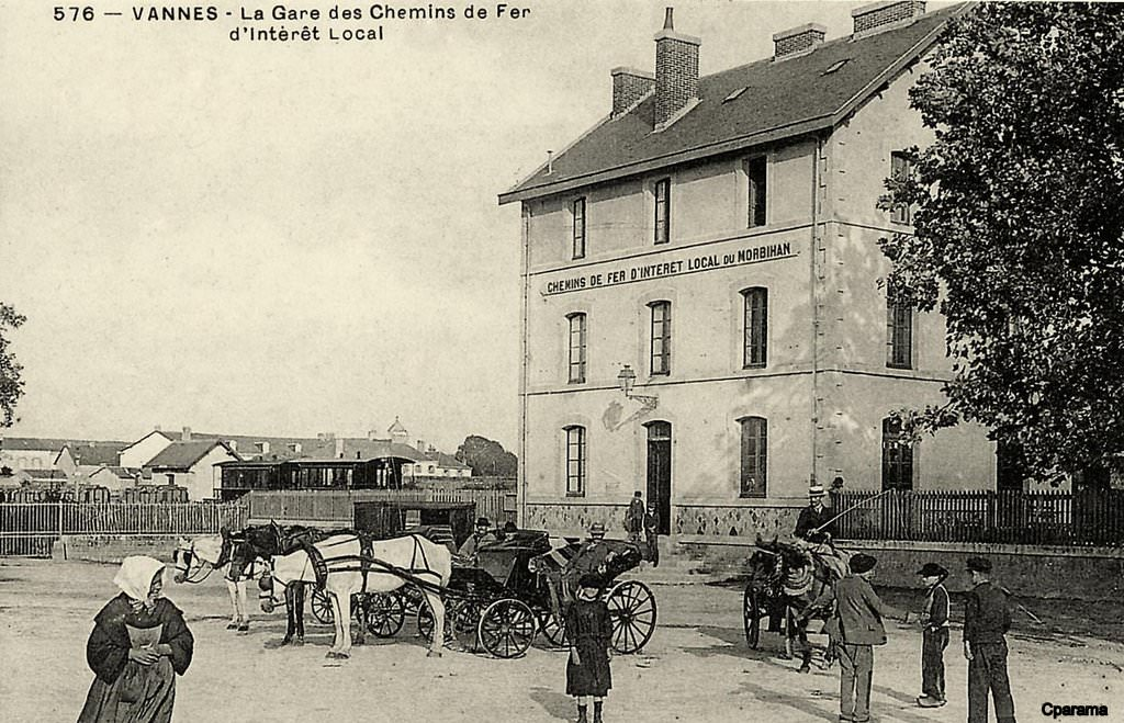 Vannes Train second