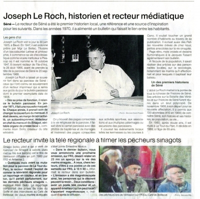 L'Abbé LE ROCH, recteur médiatique
